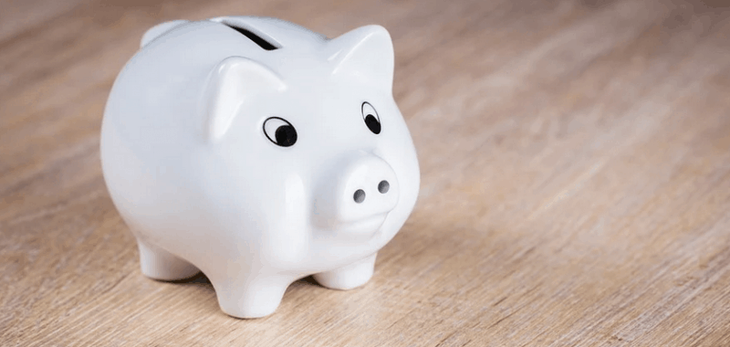 A piggy bank used for emergency savings